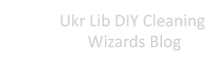 Ukr Lib DIY Cleaning Wizards Blog